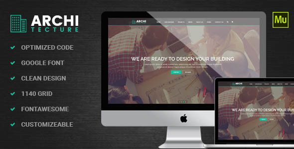 Architecture | Interior - Muse Template