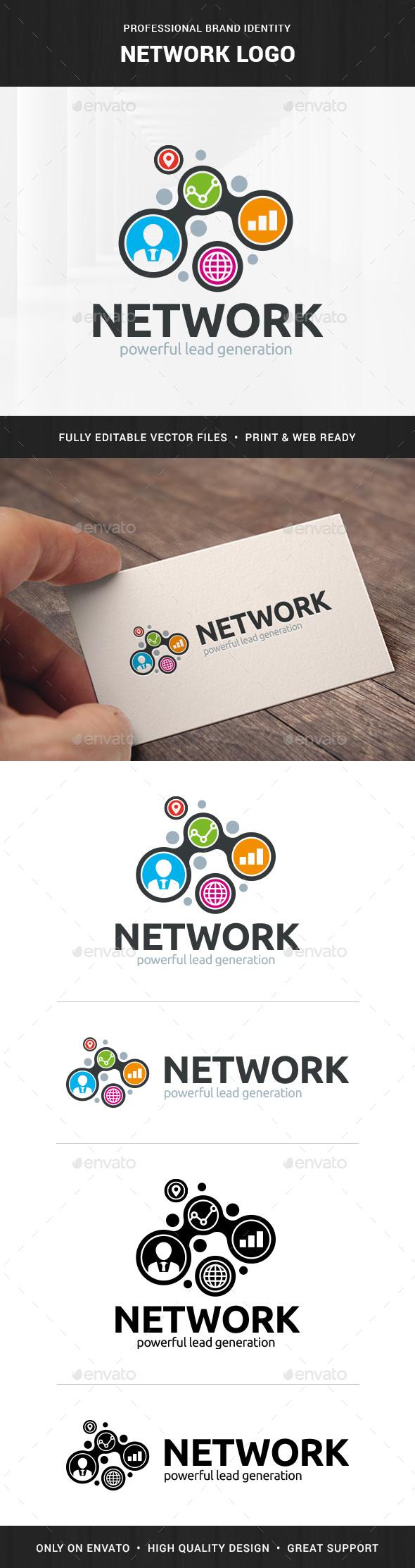 Network Logo Template