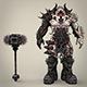 Hell Warrior Gabraal - 3DOcean Item for Sale