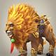 Fantasy Warrior Lion - 3DOcean Item for Sale