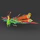 Fantasy Peacock - 3DOcean Item for Sale