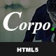 Corpo - HTML5 Responsive Multi-Purpose Template - ThemeForest Item for Sale