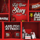 Christmas Typo Story - VideoHive Item for Sale