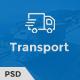 Trust Transport - Transportation and Logistics PSD Template - ThemeForest Item for Sale