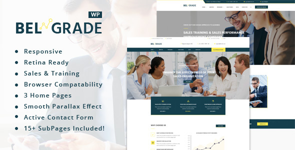 Belgrade - Training, Coaching, Consulting & Business WordPress Theme