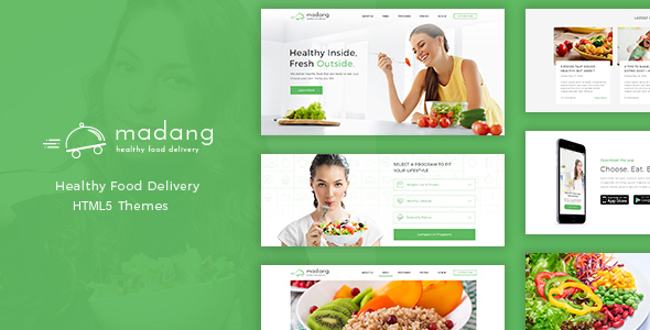Madang - Healthy Food Delivery HTML5 Template