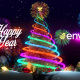 Christmas Tree & New Year Greetings - VideoHive Item for Sale