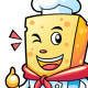 Cheese Mascot Characters - GraphicRiver Item for Sale