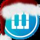 Christmas Piano Background