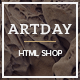 Artday - Creative Shop Template - ThemeForest Item for Sale