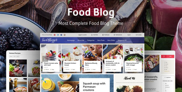 Boiler - Personal Food Blog Theme for WordPress