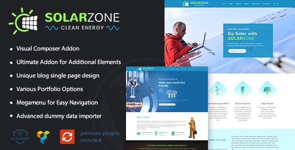 Solar Energy | Eco WordPress Theme