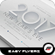 2017 New Years Flyer Template - GraphicRiver Item for Sale