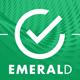 EMERALD a creative portfolio HTML template - ThemeForest Item for Sale