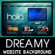 Dreamy Website Background - GraphicRiver Item for Sale