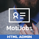 Motijobs - Human Resources Admin Template - ThemeForest Item for Sale