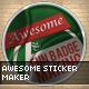 Sticker Maker - GraphicRiver Item for Sale