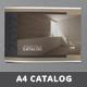 Minimal Catalogue Brochure - GraphicRiver Item for Sale