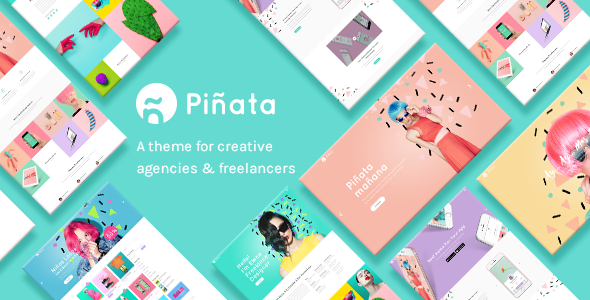 Piñata - Creative Agency Theme
