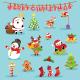 Christmas Set - GraphicRiver Item for Sale