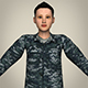 Woman Soldier C01 - 3DOcean Item for Sale