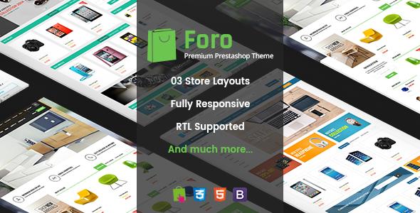 Foro - Multipurpose Responsive Prestashop Theme