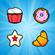 Pastry Power - IOS Memory Game - CodeCanyon Item for Sale