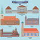 Famous Places in Germany - GraphicRiver Item for Sale