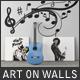 Art On Walls Mockup - Canvas Mockups - Frame Mockups - Wall Mockups Vol 7 - GraphicRiver Item for Sale