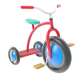 Retro Toy Tricycle (ready for render) - 3DOcean Item for Sale