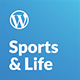 Sports & Life - Gym and Fitness WordPress Theme - ThemeForest Item for Sale