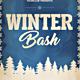 Vintage Winter Bash Flyer - GraphicRiver Item for Sale