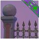 Graveyard Fences - 3DOcean Item for Sale