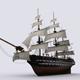 Sailing warship - 3DOcean Item for Sale
