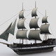 Sailing ship - 3DOcean Item for Sale