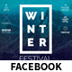 Winter Festival Facebook Covers and Post Banners - GraphicRiver Item for Sale