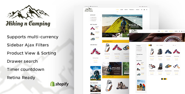 Camping Templates from ThemeForest