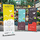 Social Media Roll-Up Banner - GraphicRiver Item for Sale