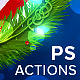 Christmas Lights - Photoshop Action - GraphicRiver Item for Sale