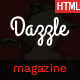 Dazzle – Viral Content / Magazine HTML Template - ThemeForest Item for Sale