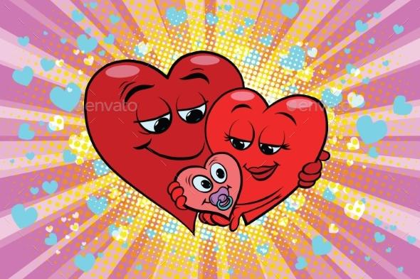 Valentines Day Family