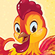 Red Fire Rooster for the Chinese New Year - GraphicRiver Item for Sale