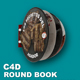 Round Book Animated (C4D ready for render) - 3DOcean Item for Sale
