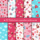 Seamless Patterns for Saint Valentine's Day Design - GraphicRiver Item for Sale