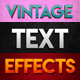 10 Vintage Photoshop Text Effects - GraphicRiver Item for Sale