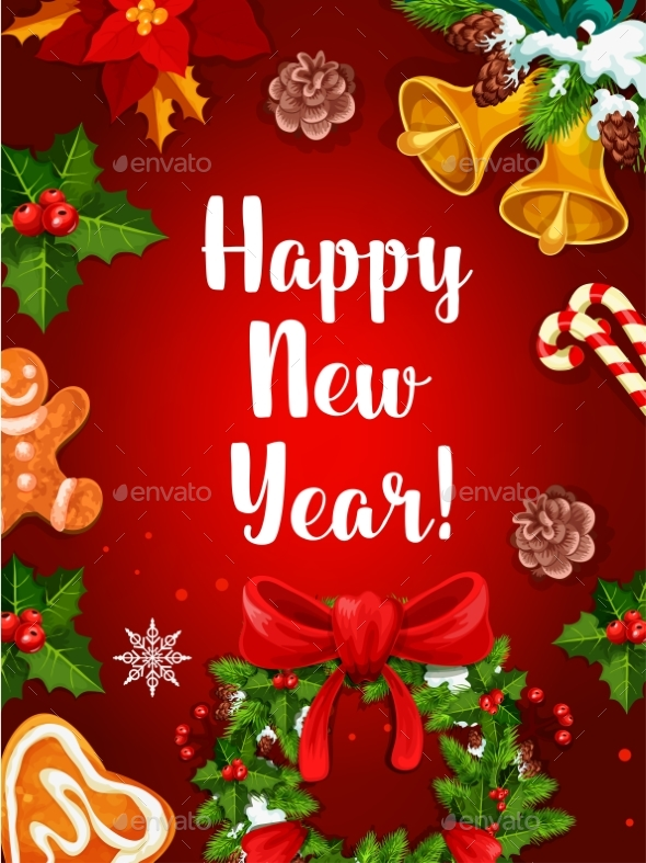 Happy New Year Holidays Poster