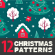 12 Christmas Seamless Patterns - GraphicRiver Item for Sale