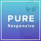 Pure - Responsive Creative Portfolio Muse Template - ThemeForest Item for Sale