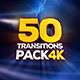 Transitions Pack - 4K - VideoHive Item for Sale