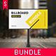 Studio Billboard Mock-up Bundle - GraphicRiver Item for Sale
